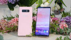 Samsung Galaxy Note 8 ปล่อย สีใหม่!! สีชมพู  Rose Pink สุดหวาน