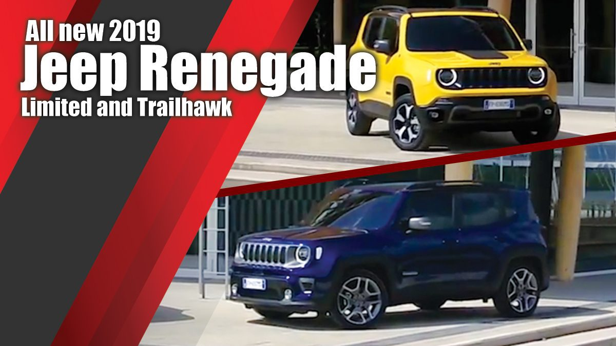 All new 2019 Jeep Renegade Limited and Trailhawk - Design , Driving Video