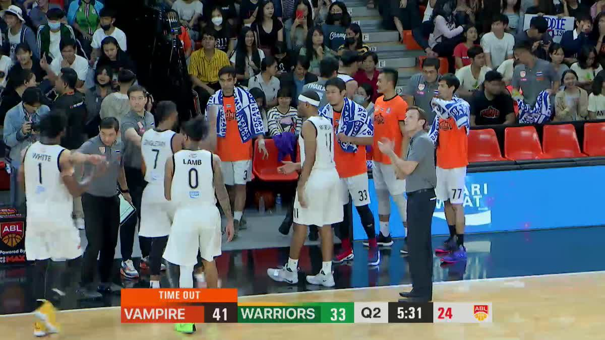 Q2 Asean Basketball League 2018-2019 :  Mono Vampire VS Wolf Warriors 2 Feb 2019