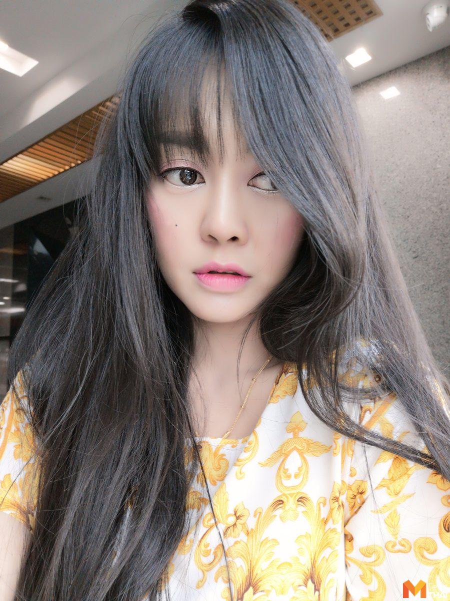 รูปจากกล้องหน้าของ Huawei P20