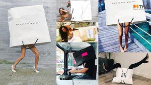 Victoria Beckham นำกระแสใหม่ ถ่ายรูปกับถุงช้อปปิ้ง ติดแท็ก #VBBagChallenge