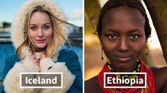 สวยธรรมชาติ!! 25 ผู้หญิงสวย จาก ทั่วโลก สะท้อนความงามที่เป็นเอกลักษณ์
