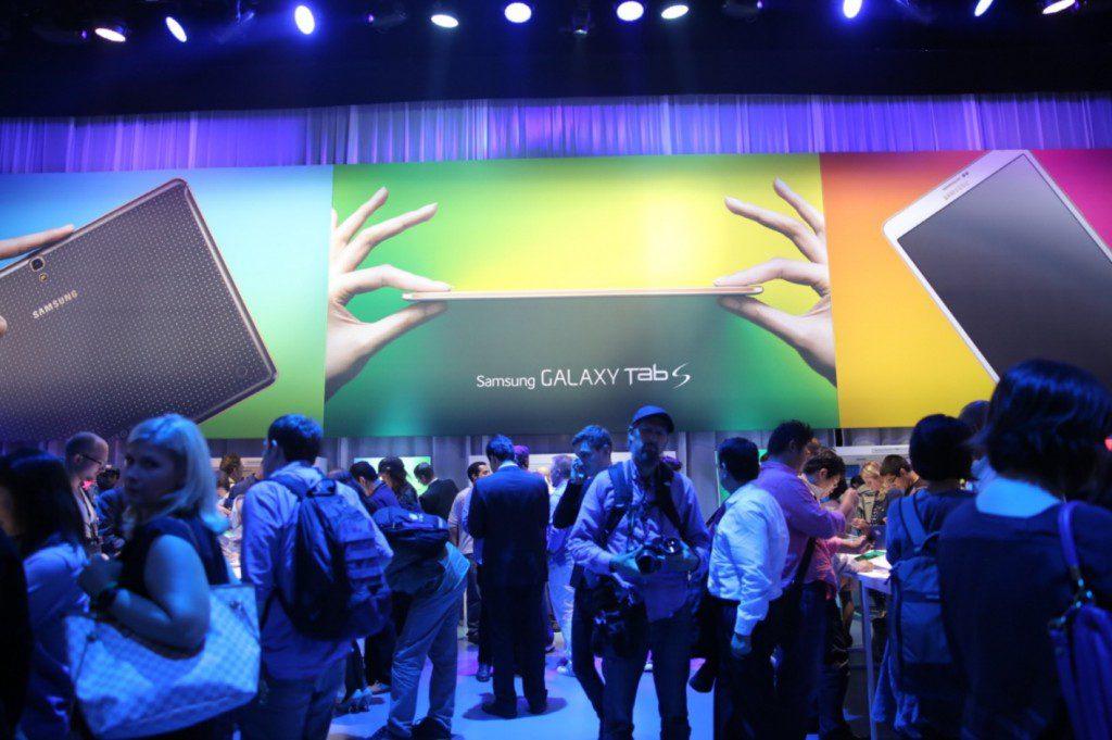 Samsung introduced Galaxy Tab S at Galaxy Premier 2014 (3)