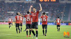 ผลบอล: เมืองทอง ประกาศศักดาโค่นแชมป์เจลีก ซิสโก้ ซัดชัยทดเจ็บ 2-1 ศึก เอเอฟซี ชปล.