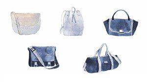 ชื่อเรียกของกระเป๋า แต่ละแบบเรียกว่าอะไรบ้าง มาดูกันค่ะ | รูปทรงกระเป๋า