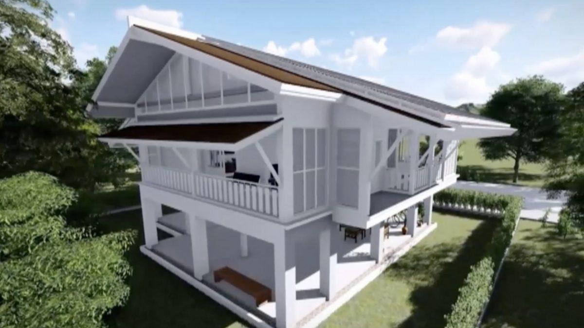 แนวความคิดบ้านต้นแบบดีดี (DEDE) รักษ์พลังงาน