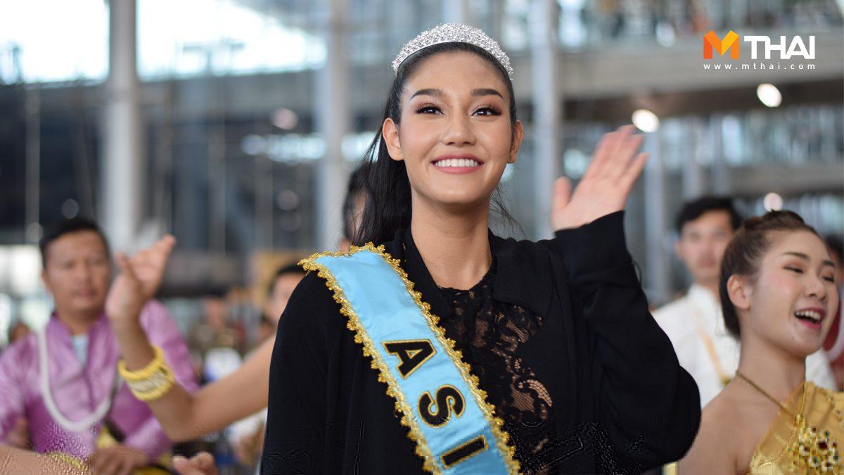 ถึงไทยแล้ว นิโคลีน พิชาภา รองอันดับ 1 มิสเวิลด์ 2018 ผู้หญิงที่พลิกประวัติศาสตร์วงการนางงามให้กับเมืองไทย