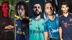 อาดิดาส เผยโฉมชุดแข่งที่ 3 ลุยศึกฤดูกาลใหม่ สำหรับ 5 ทีมยักษ์ใหญ่แห่งยุโรป