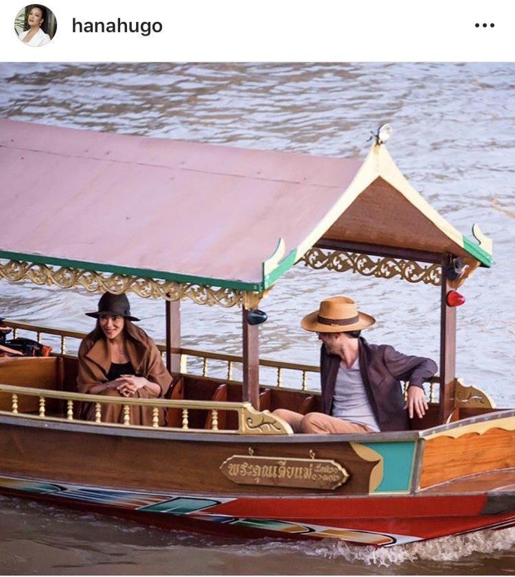 ฮาน่า-ฮิวโก้ ล่องเรือชมวิวอยุธยา