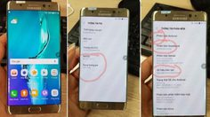 ภาพหลุดเผยSamsung Galaxy Note 7R มาพร้อม Android Nougat และแบตเตอรี่ที่น้อยลง