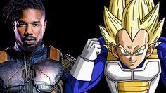 ไมเคิล บี. จอร์แดน ตอบ ชุดของ เอริก คิลมังเกอร์ มาจาก เบจิต้า ใน Dragon Ball Z ใช่ไหม