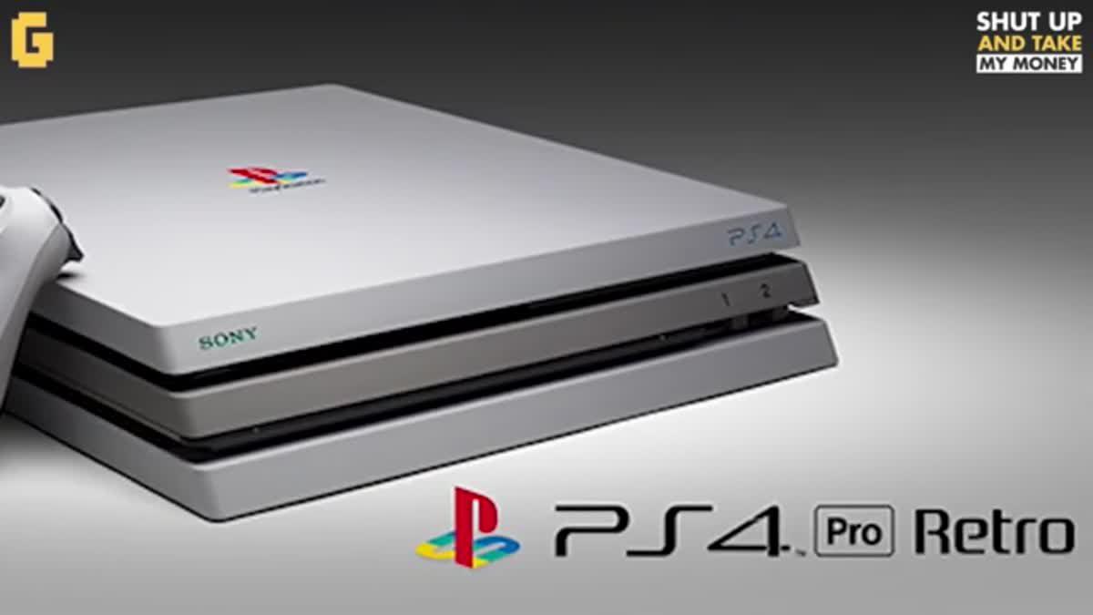 PS4 Pro กลับมาใหม่ในร่างแบบ retro ของ PS1