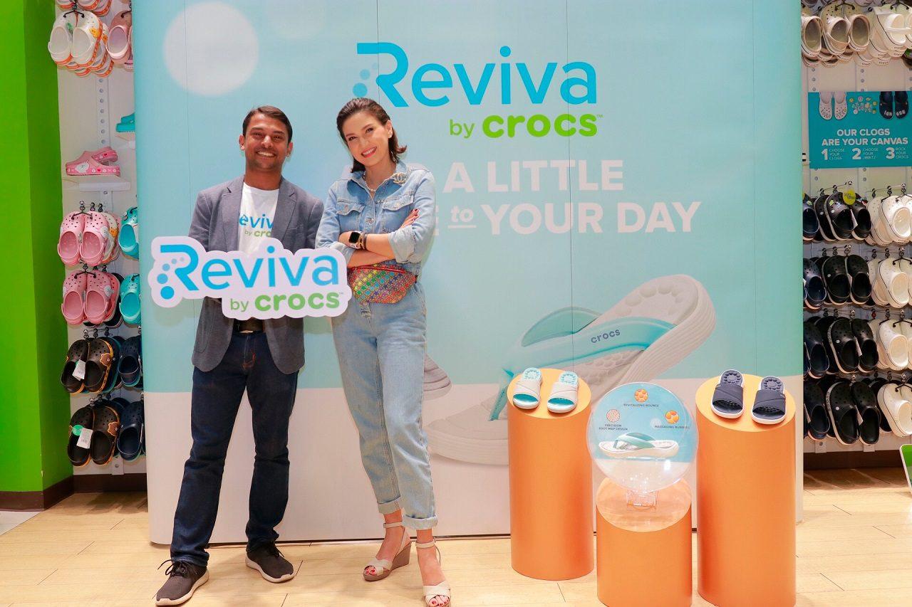 """""""Crocs"""" บุกตลาดชูนวัตกรรมแบรนด์ """"Reviva"""" กระตุ้นยอดขาย ด้วยเทคโนโลยีความนุ่มสบาย เหมาะกับทุกสรีระ"""