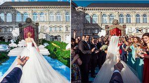 แต่งงานแล้วจ้า!! คู่รักที่ใครก็อิจฉา ถ่ายภาพจูงมือแฟนเที่ยวรอบโลก