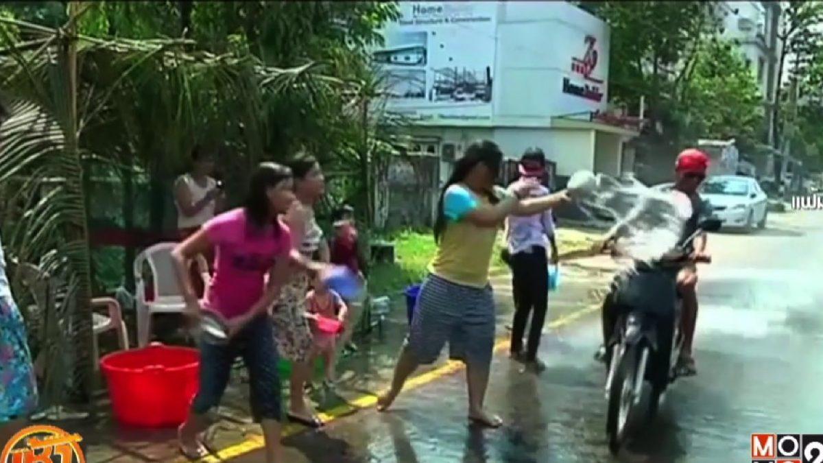เทศกาลสาดน้ำในอาเซียน
