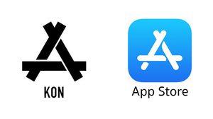 แบรนด์เสื้อผ้า KON ฟ้อง Apple นำโลโก้ไปใช้เป็นโลโก้ ใหม่ App Store