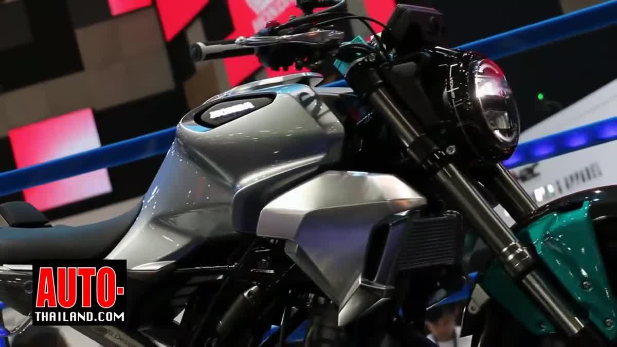 เอ.พี. ฮอนด้า เผยโฉมรถจักรยานยนต์ต้นแบบ Honda 150SS Racer ในงาน Motorshow 2017