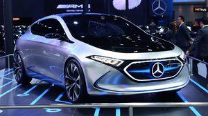 Mercedes-Benz อวดโฉมรถยนต์ไฟฟ้าต้นแบบ EQA พร้อมเปิดตัว 2 รถหรูแรง