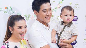 ครอบครัวดารา สุขสันต์ กาย – ฮารุ อุ้มท้อง และ น้องคิริน