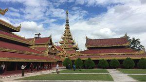 พระราชวังมัณฑะเลย์ ความงดงาม กับเรื่องราวประวัติศาสตร์น่าเศร้าใจ - พม่า