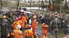 ยอดผู้เสียชีวิตสึนามิอินโดฯ พุ่งเกือบ 400
