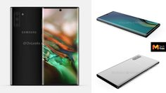 เผยภาพเรนเดอร์ Galaxy Note10 ครบทุกมุม เตรียมลาหูฟัง 3.5 มม.!!