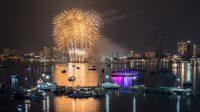 เทศกาลพลุนานาชาติ เมืองพัทยา 2562 ชมพลุสุดอลังริมชายหาด