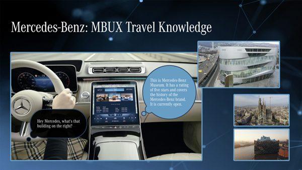 MBUX Hyperscreen