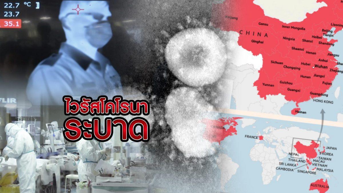 ไวรัสโคโรนาระบาด 28-01-63