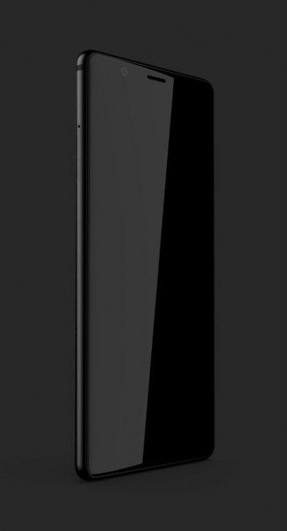 ภาพหลุด Blackberry Ghost รุ่นใหม่ ดีไซน์ไร้ขอบสไตล์ iPhone X