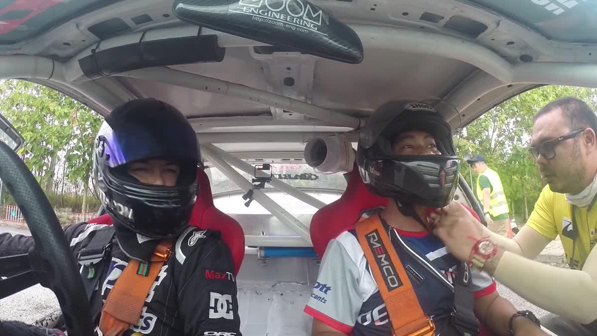 ประสบการณ์นั่ง TAXI DRIFT บนรถแข่งของเอ็ม อรรถพล