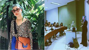 อาจารย์มือใหม่! นท พนายางกูร เข้าคลาสสอนเด็กนิเทศฯ ม.กรุงเทพ