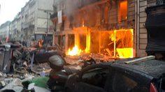 เหตุระเบิดในร้านเบเกอรี่ในกรุงปารีสพบเพลิงลุกโชนเจ็บ 20 คน