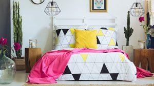 สร้างบรรยากาศ ด้วยสีสัน ของชุด เครื่องนอน เพิ่มความสดใสให้กับห้อง
