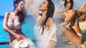 ไปคร่าาาา…รวมความเผ็ชชชช ใส๊ใสไปกับดาราสาวในชุดว่ายน้ำขาวๆ ซอฟท์ๆ