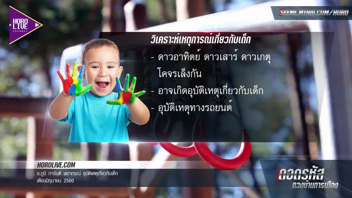 ระวังเด็กเล็กให้ดี มีเกณฑ์เกิดอุบัติเหตุร้ายแรงได้