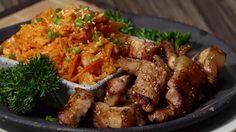 เน้นอิ่ม!! สูตร ข้าวผัดกิมจิสามชั้นย่าง อร่อยสไตล์โคเรีย