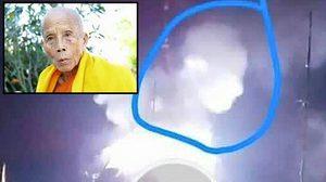 ฮือฮา! ควันลอยเป็นรูป 'เกจิล้านนา' ในพิธีพระราชทานเพลิงศพ