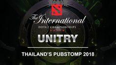 UNITRY THAILAND'S PUBSTOMP 2018 by Lenovo งานใหญ่ประจำปีของสาวก Dota 2 กลับมาแล้ว