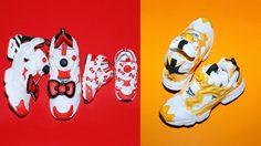 Sanrio x Reebok Instapump Fury นำทีมมาโดย Hello Kitty และ Gudetama