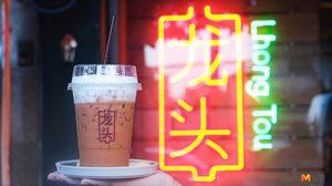 กินติ่มซําแบบชิคๆ Lhong Tou Cafe (เยาวราช) โต๊ะดีไซน์เก๋ คาเฟ่สไตล์จีน