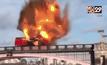 ระเบิดรถบัสถ่ายหนังกลางกรุงลอนดอน