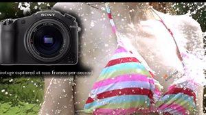 ทดสอบกล้อง Sony RX 10 II ด้านสโลโมชั่นด้วยนางแบบสาวอกสะบึม