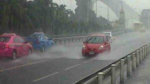 ทั่วไทยฝนยังตกหนักบ้างแห่ง กทม. ร้อยละ 70 ของพื้นที่