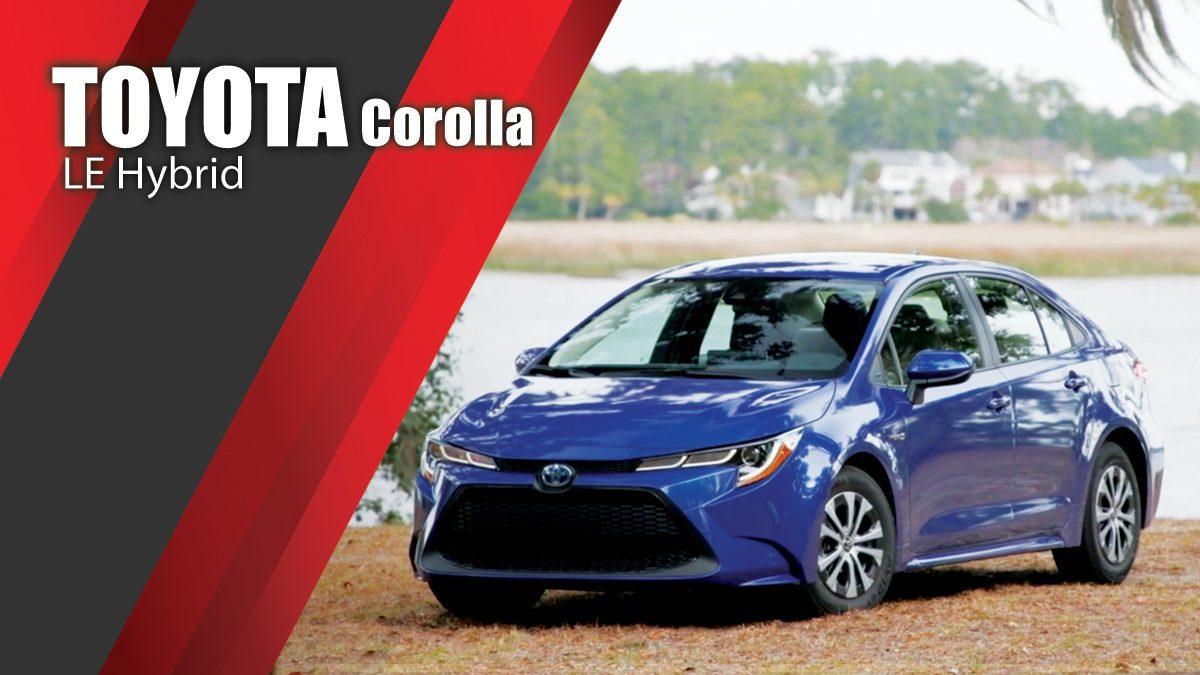 2020 Toyota Corolla LE Hybrid - Design