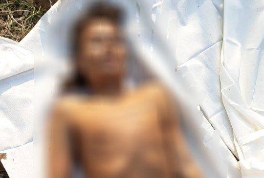 พบศพหนุ่มพม่า ถูกฆ่ารัดคอ หมกไร่อ้อย เมืองกาญจน์