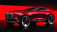 เปิดภาพ Render รถ Crossover สุดหรู Mercedes-Benz Maybach Coupe