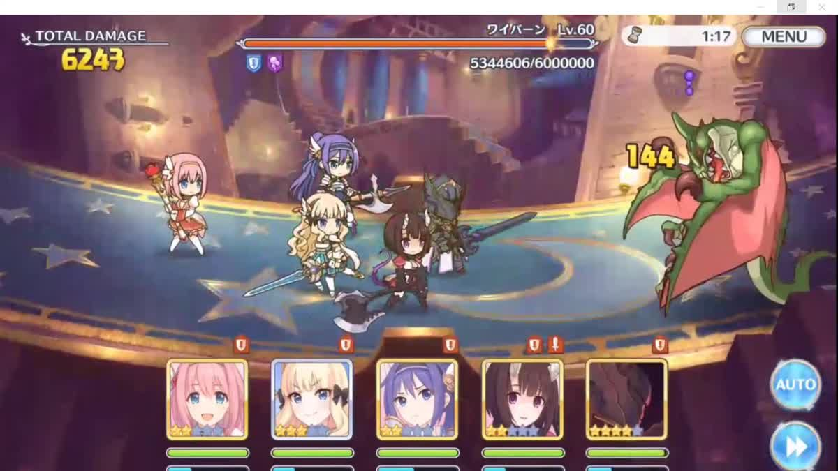 Princess connect : ทดลองลง Clan Battle