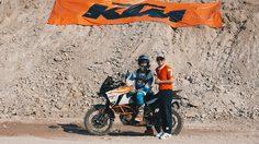 คริส เบิร์ช นักขี่แอดเวนเจอร์ชื่อก้องโลก ร่วมงาน KTM Adventure Coaching Clinic with Chris Birch