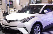 โตโยต้า ส่งมอบ Toyota C-HR 100 คัน เพื่อธุรกิจ Car Sharing เพื่อตอบรับไลฟ์สไตล์ของคนรุ่นใหม่